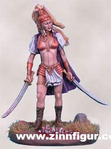 Orientalische Kämpferin