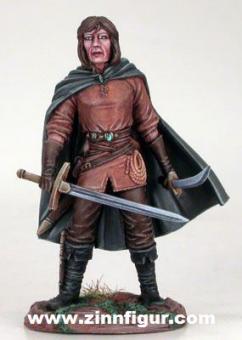 Dieb mit Schwert und Dolch