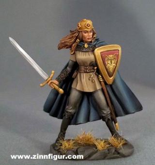 Kämpferin mit Langschwert