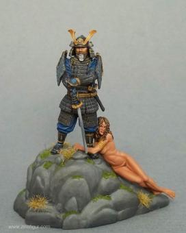 Jubiläumsfigur - Dennis Mize-Samurai mit geretteter Jungfer