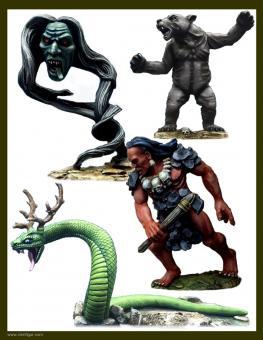 Irokesische Geister-Kreaturen