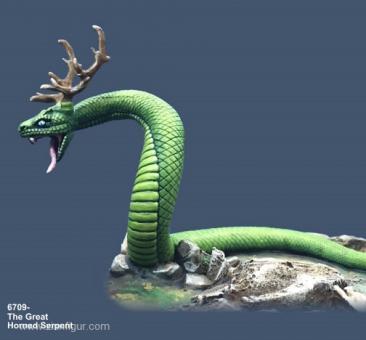 Die Große Gehörnte Schlange