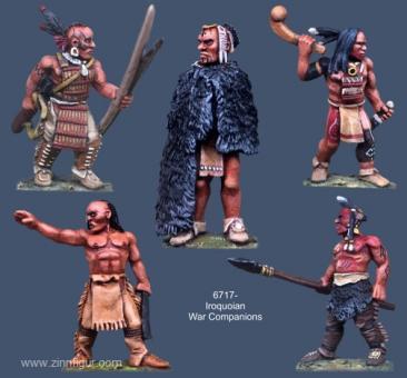 Irokesen Kriegs-Kameraden