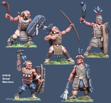 Große Krieger der Irokesen