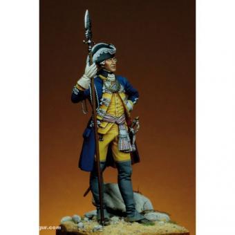 Offizier - Leib-Infanterie-Regiment Hessen-Kassel in Amerika