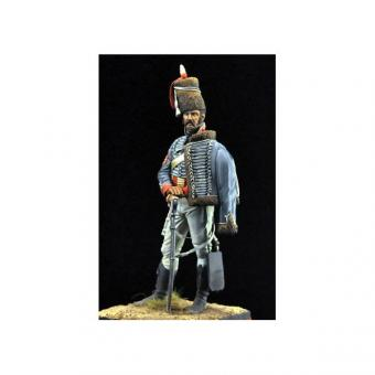 Sergeant Major - 15. Husarenregiment - 1808