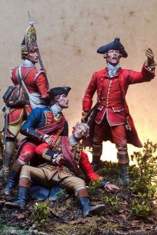 Braddocks Niederlage bei Monongahela - 1755