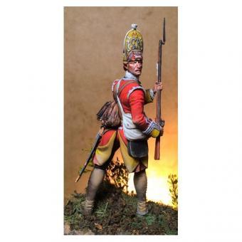 Grenadier-Sergeant - 44th Regiment - 1755