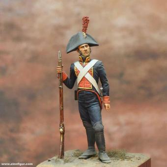 Infanterist der Texanischen Truppen