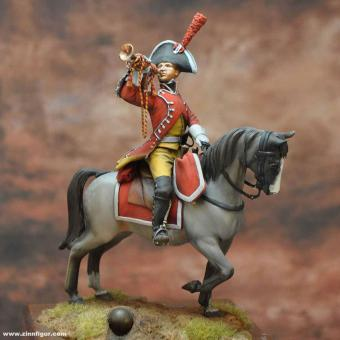 Trompeter (Dragoner Regiment de la Reina)
