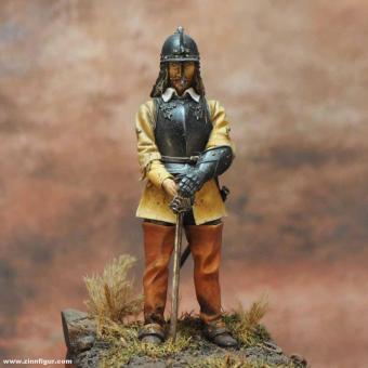 Nathaniel Fiennes, Offizier der Parlaments-Kavallerie