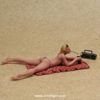 Das Strandmädchen