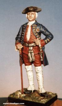 """König Friedrich Wilhelm I. von Preußen """"Soldatenkönig"""" - um 1725"""