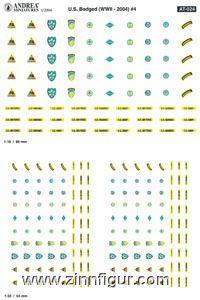 Uniform-Abzeichen 4, USA