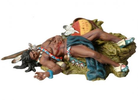 Dead Sioux laying on the ground