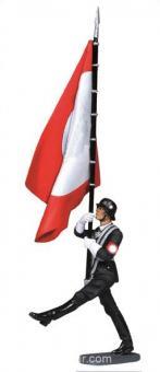 Flag Bearer LAH, Goose Stepping