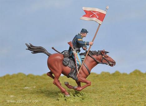 Kavallerie-Standartenträger