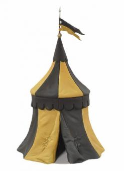 Tent - Black and Yellow