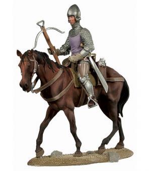 Armbrustschütze zu Pferd