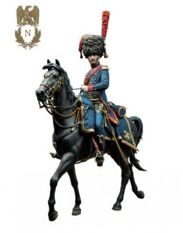 Mounted Officer - Horse Artillery of the Imperial Guard