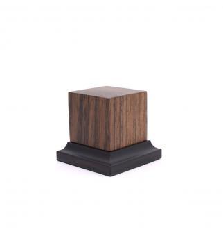 Holzsockel mit Fuß (Ovangkol)