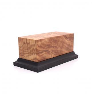 Holzsockel mit Fuß (Olive)