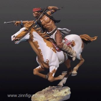 Apache zu Pferd