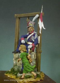 Polnischer Lancier mit Kind