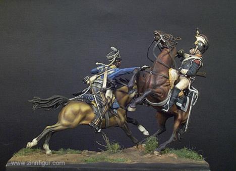Geplänkel: 2 Kavalleristen im Gefecht