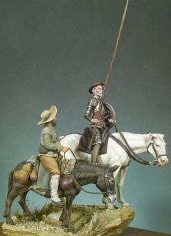 Don Quijote und Sancho