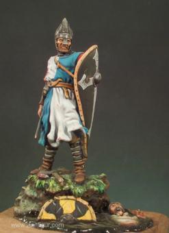 Normannischer Krieger in der Schlacht bei Hastings