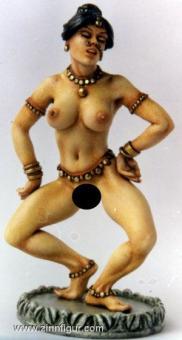 Tanzende Inderin