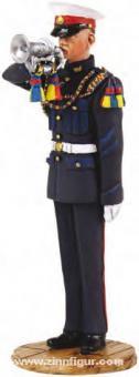 Britischer Royal Marine Hornist - 1959