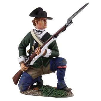 Loyalist Butler's Ranger - kniend, bereit