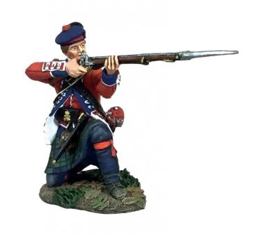 Highlander, kniend, feuernd - 42nd Royal Highland Regiment