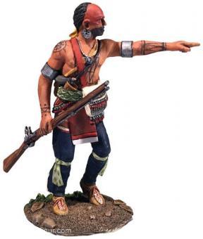 Indianer-Krieger - zeigend