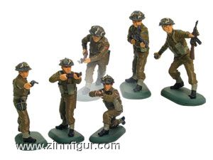 World War II British Infantry Counter Pack, 48 Piece Assortment