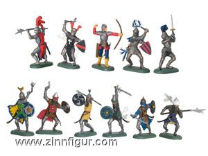 Knights Foot Counter Pack, 48 Piece Assortment