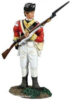 Infanterist, nach Munition greifend #1