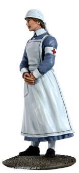 Britische Krankenschwester