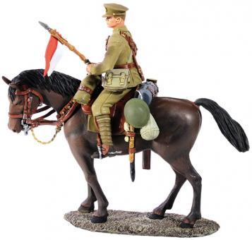 Britischer Lancier zu Pferd