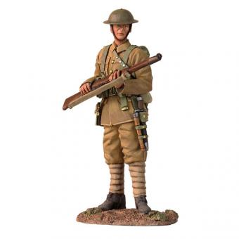 Britischer Infanterist, Wache stehend