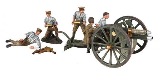 13 Pfund Geschütz RHA mit 5 Artilleristen