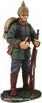 Deutscher Infanterist mit Pfeife - 1914