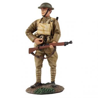 US Infanterist, nach Patrone greifend