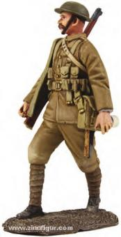 Britischer Infanterist, marschierend - 1916-17
