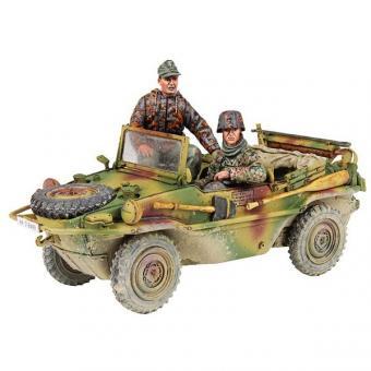 Typ 166 Schwimmwagen mit Soldaten