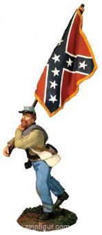 Infantry Flagbearer, advancing