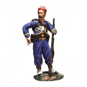 Union Infantry 146th NY Zouave Standing Reaching Cartridge