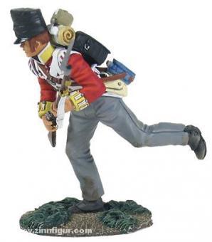 Light Company Soldier Crouching Running
